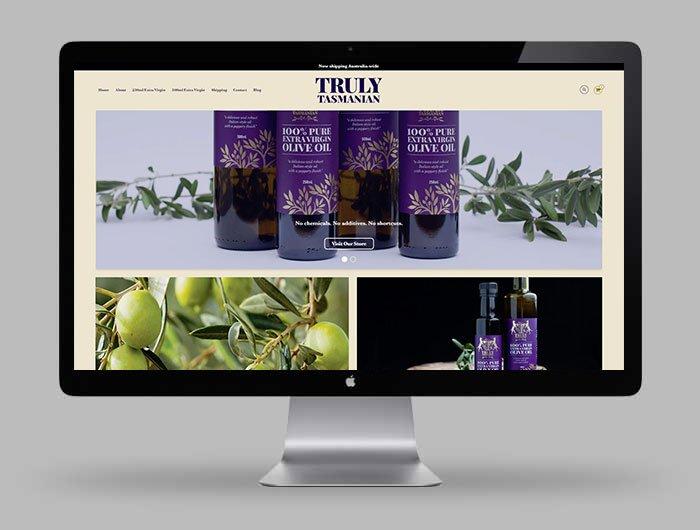 Truly Tasmanian 100% Pure Shopify